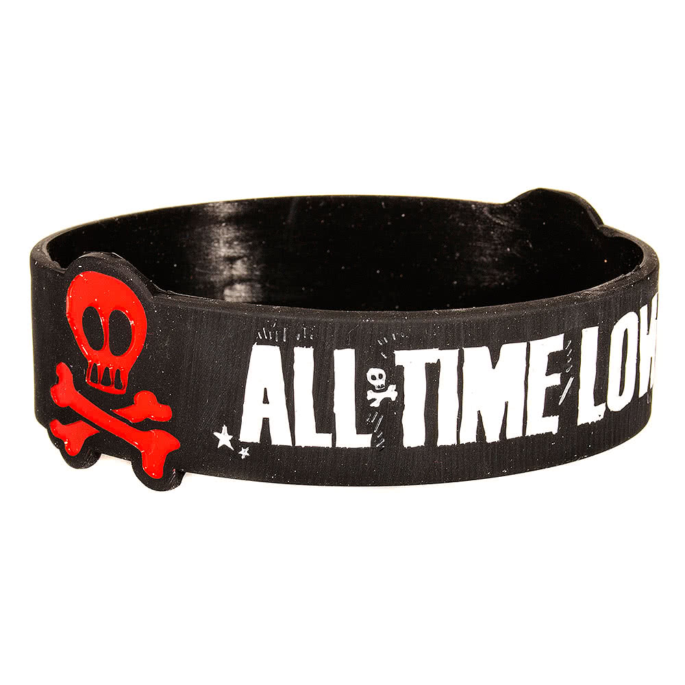 All Time Low Carpal Cuff Wristband (Black)