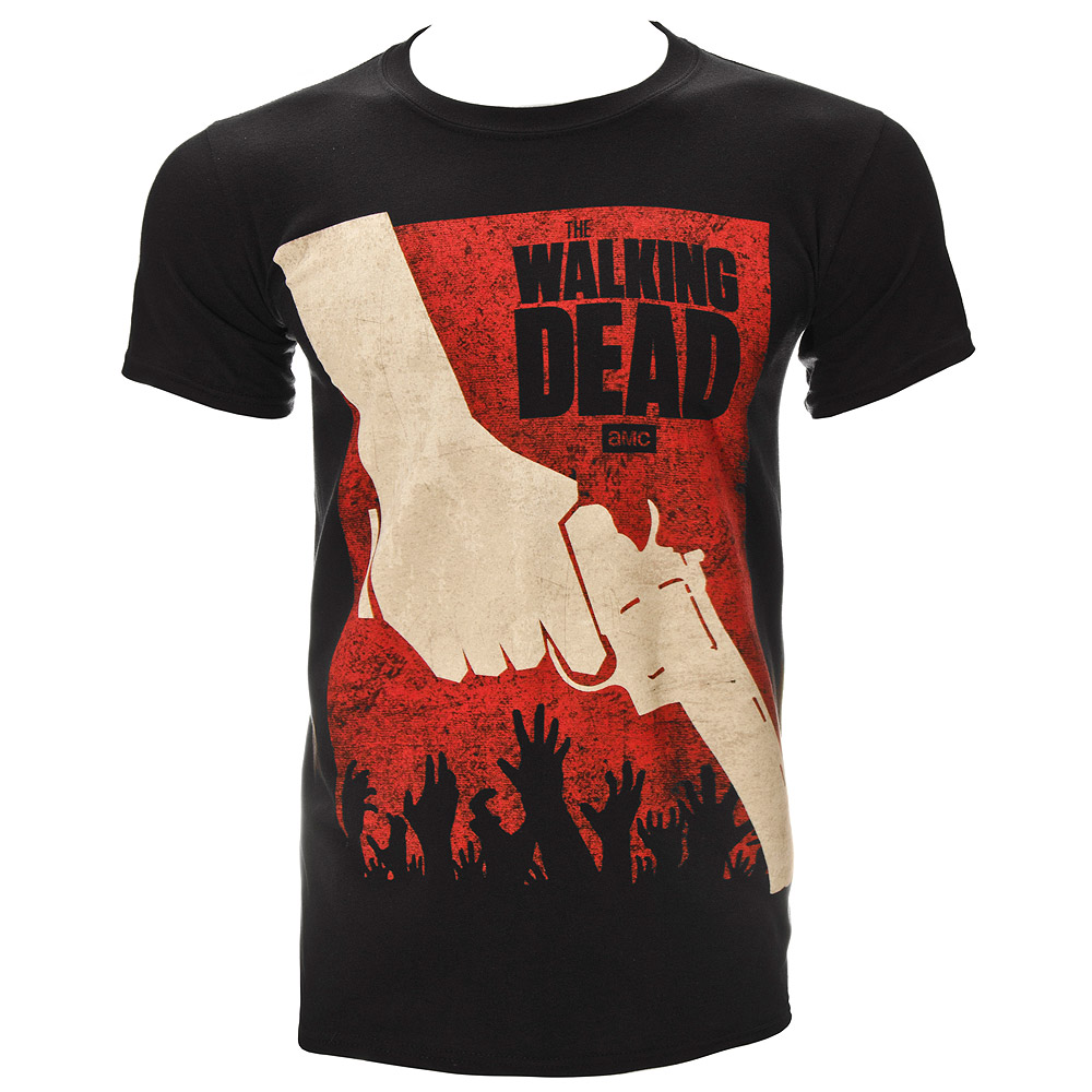 The Walking Dead Revolver T Shirt (Black)