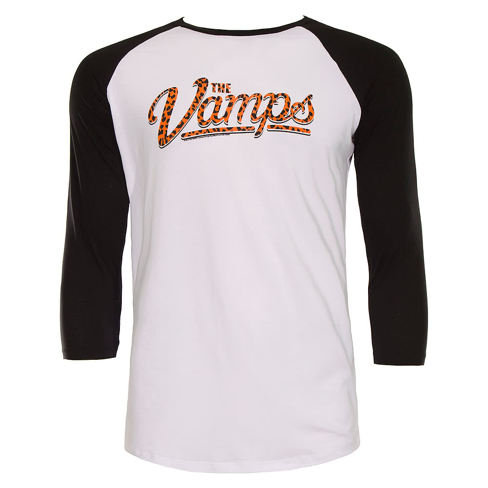 The Vamps Leopard Long Sleeve Top (Black/White)