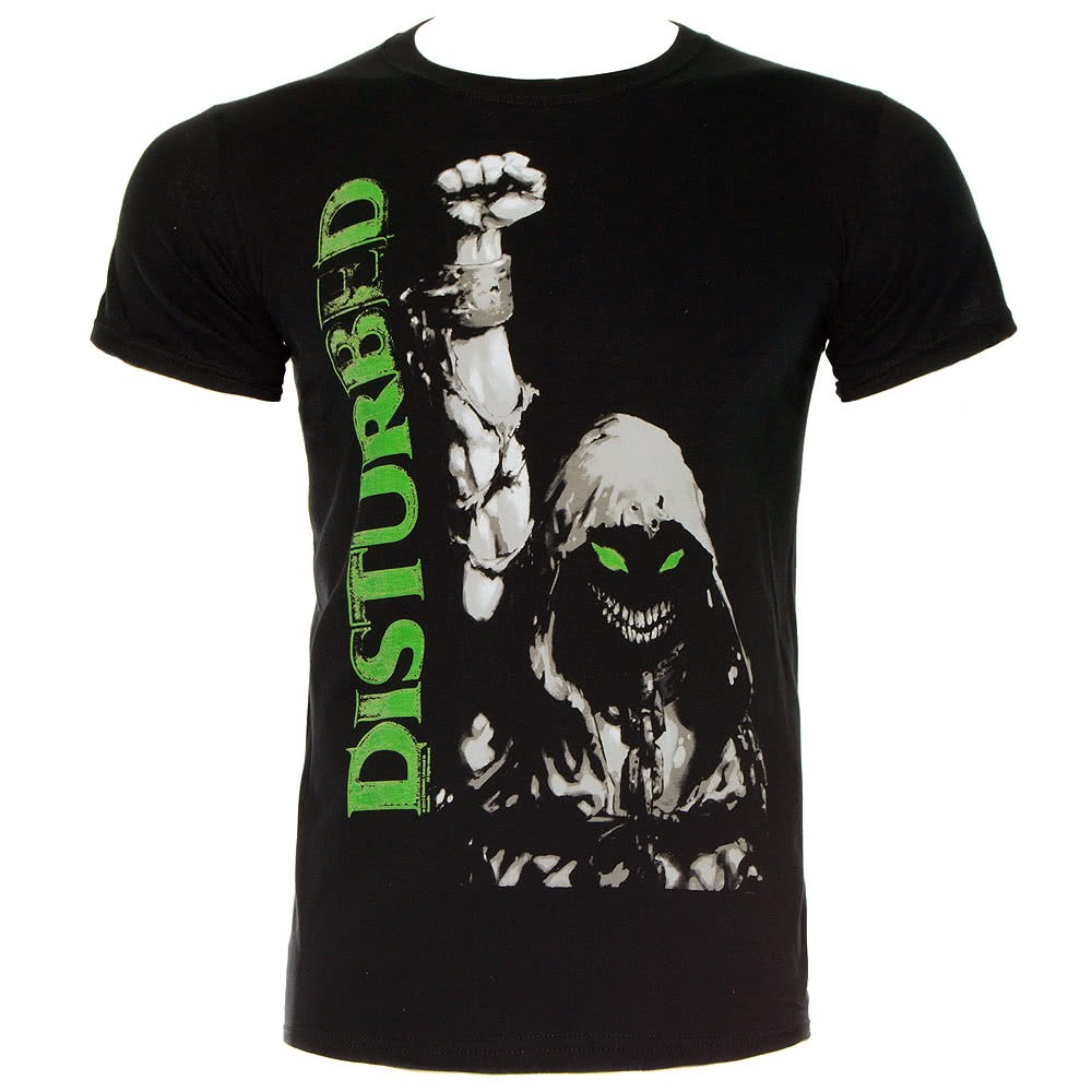 Disturbed Up Your Fist T Shirt (Black)