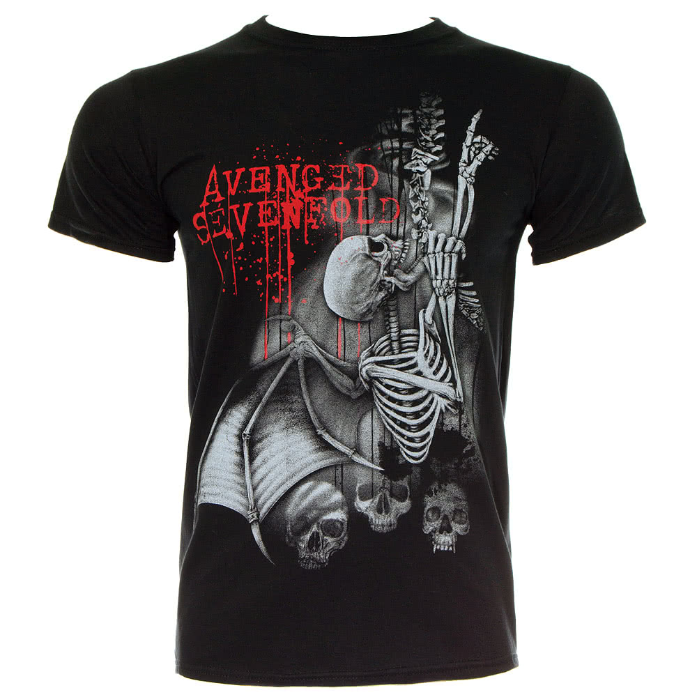 Avenged Sevenfold Spine Climber T Shirt (Black)