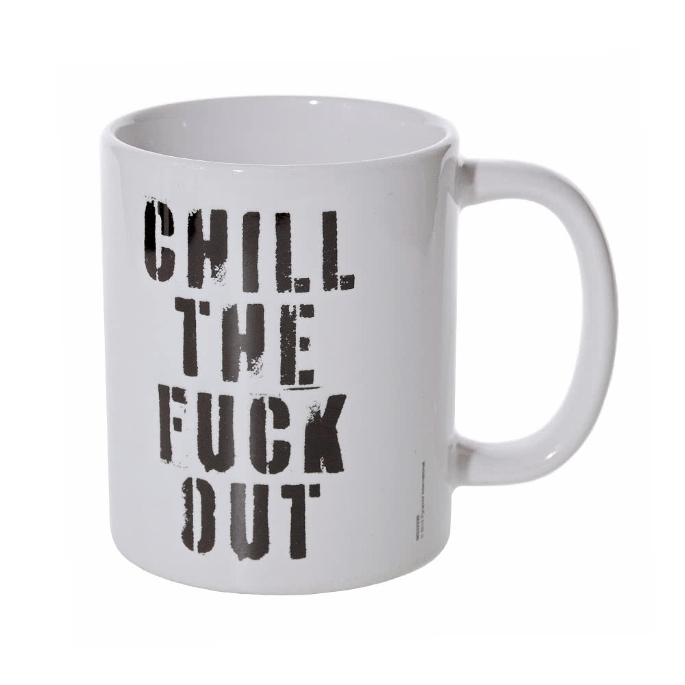 Blue Banana Chill The Fuck Out Mug