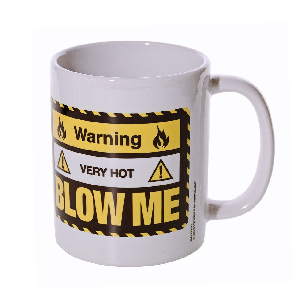 Blue Banana Blow Me Mug