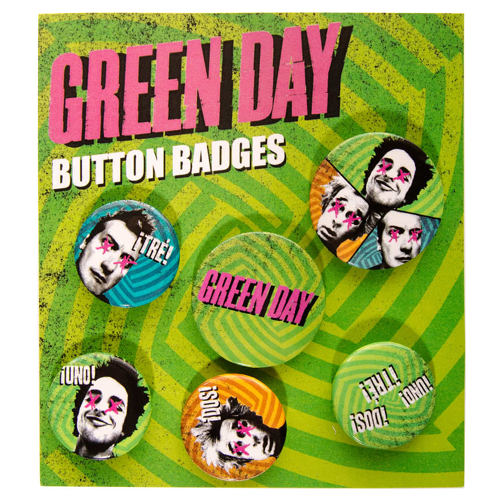 Green Day Badge Set