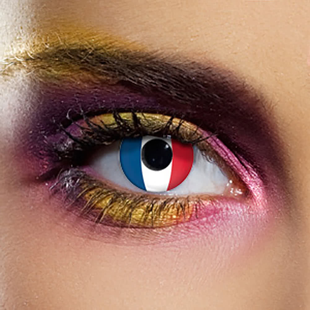 EDIT 90 Day Flag Contact Lenses (France)