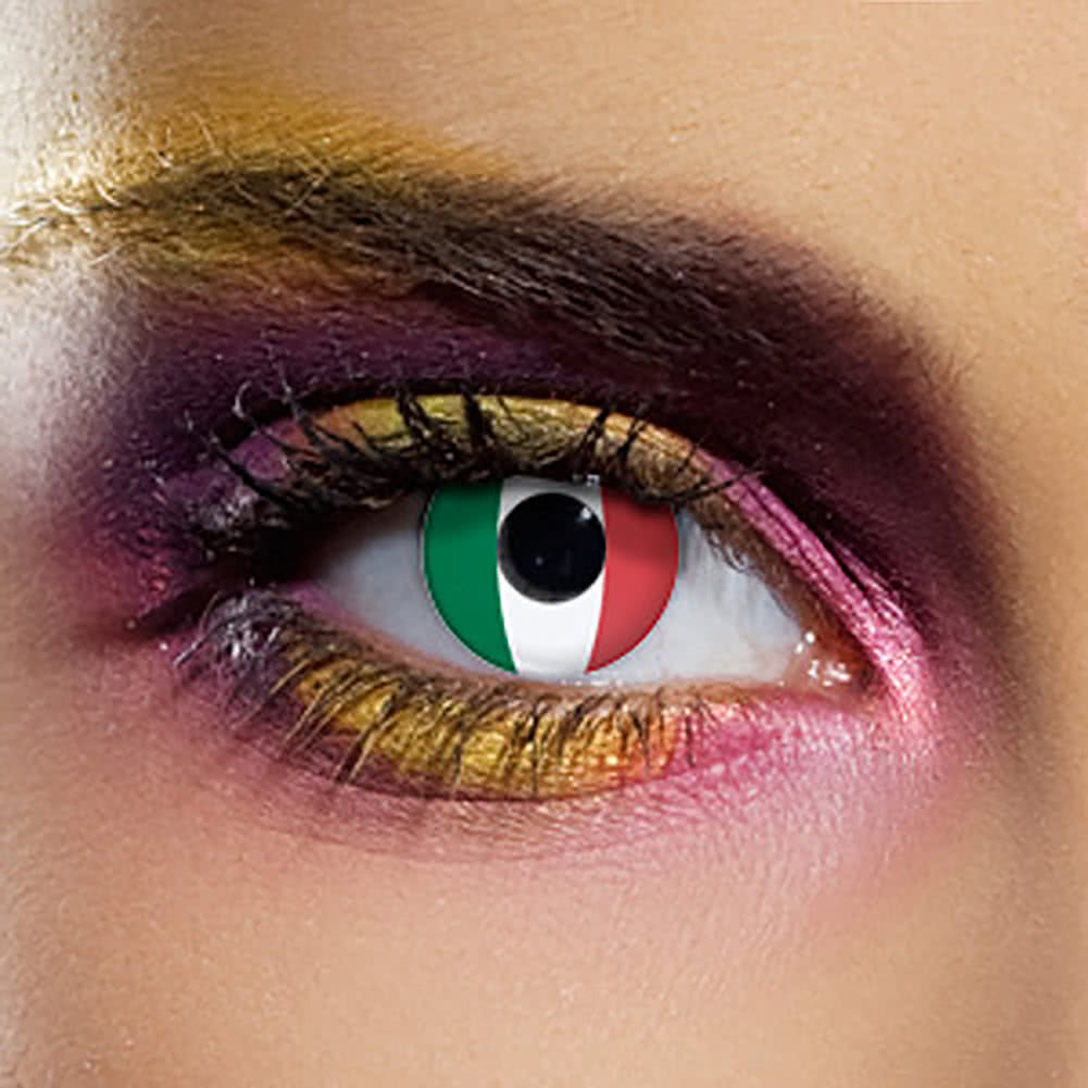 EDIT 90 Day Flag Contact Lenses (Italy)