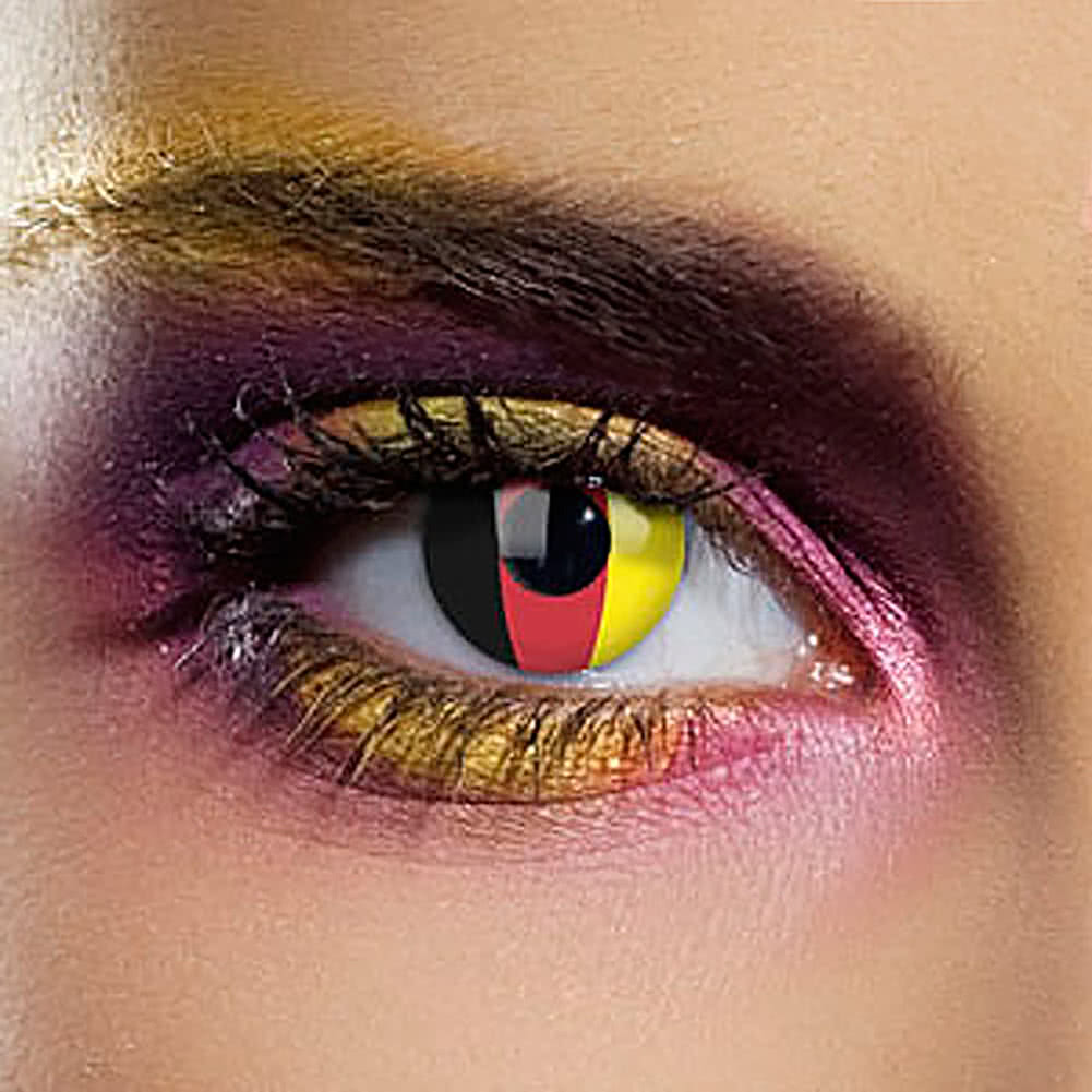 EDIT 90 Day Flag Contact Lenses (Germany)