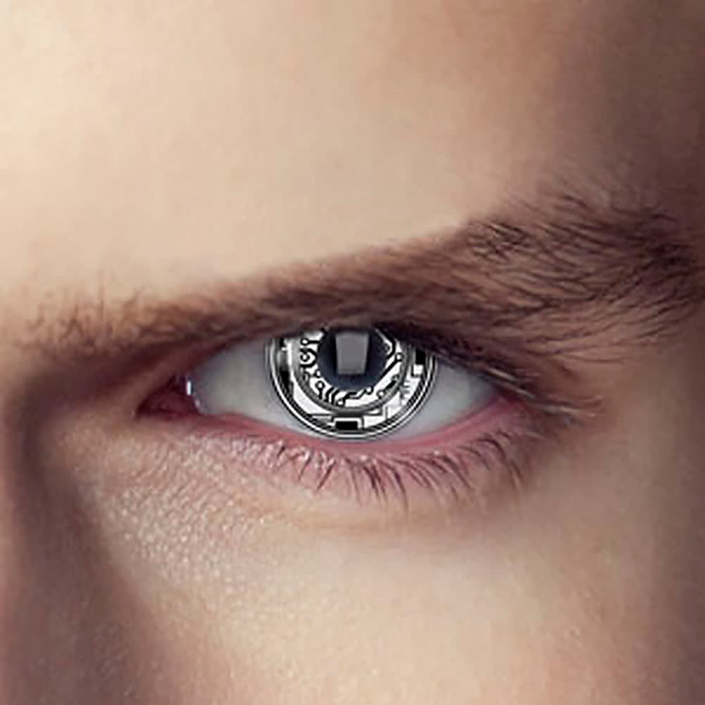 EDIT 1 Year Terminator Coloured Contact Lenses (Bionic Eye)