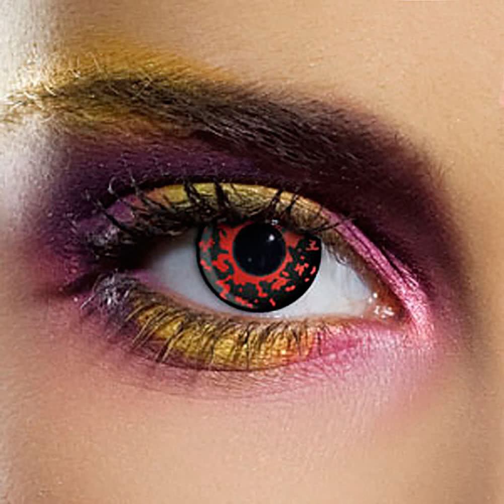 EDIT 90 Day Coloured Contact Lenses (Lava Eye)