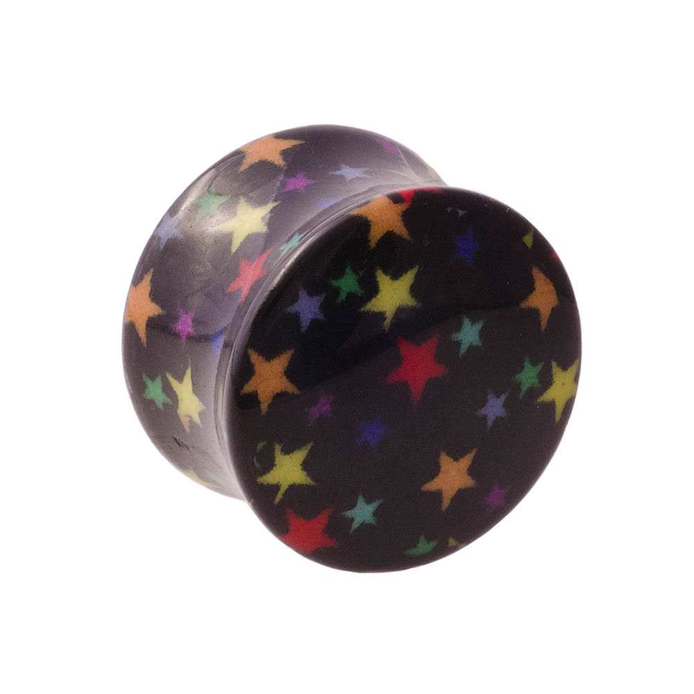 Blue Banana Star Plug (Multi-Coloured)