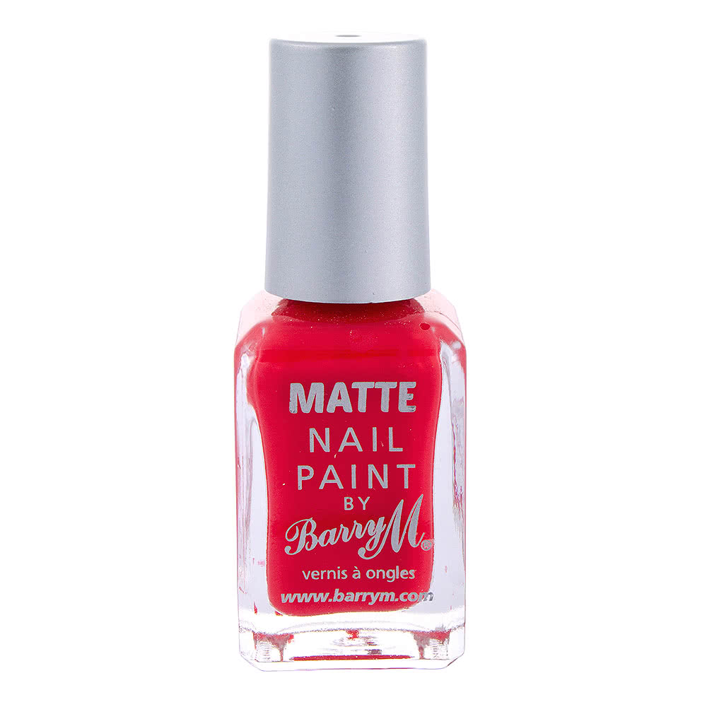 Barry M Matte Copacabana Nail Paint (Pink)