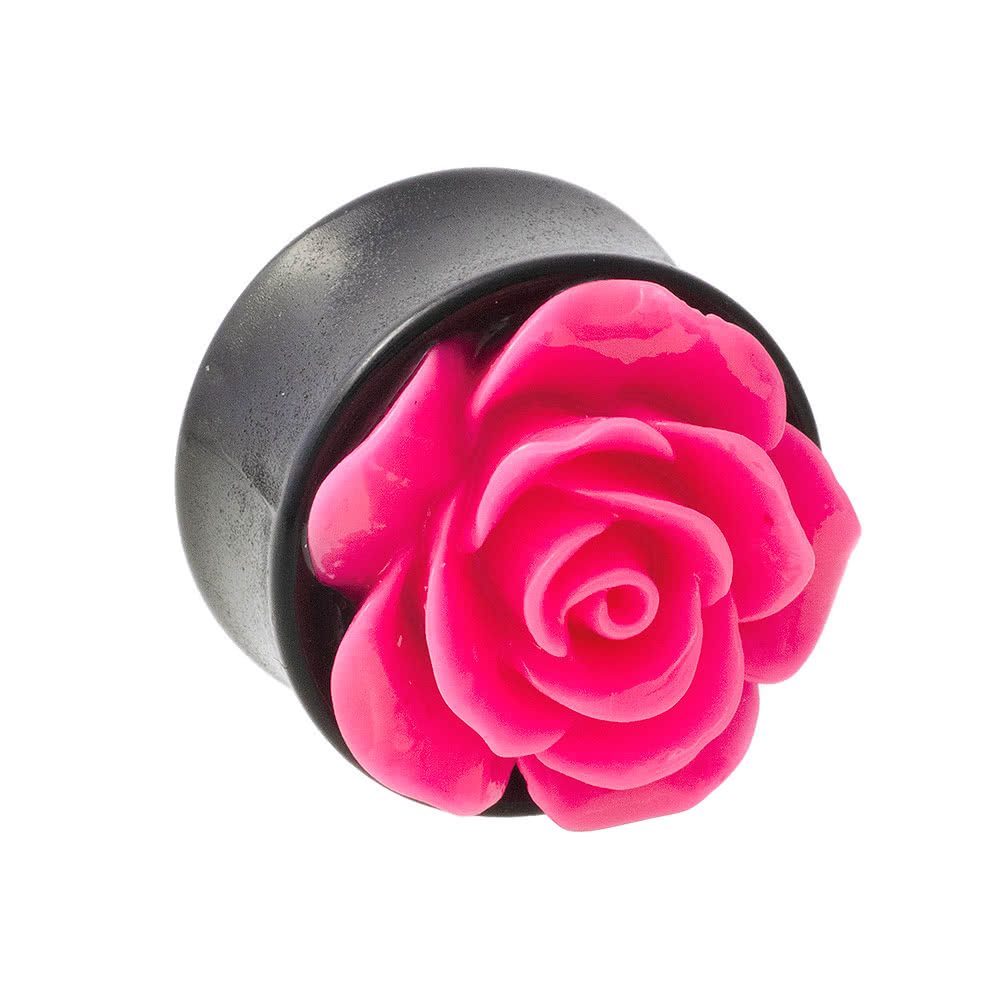 Blue Banana Rose Top Plug (Dark Pink)
