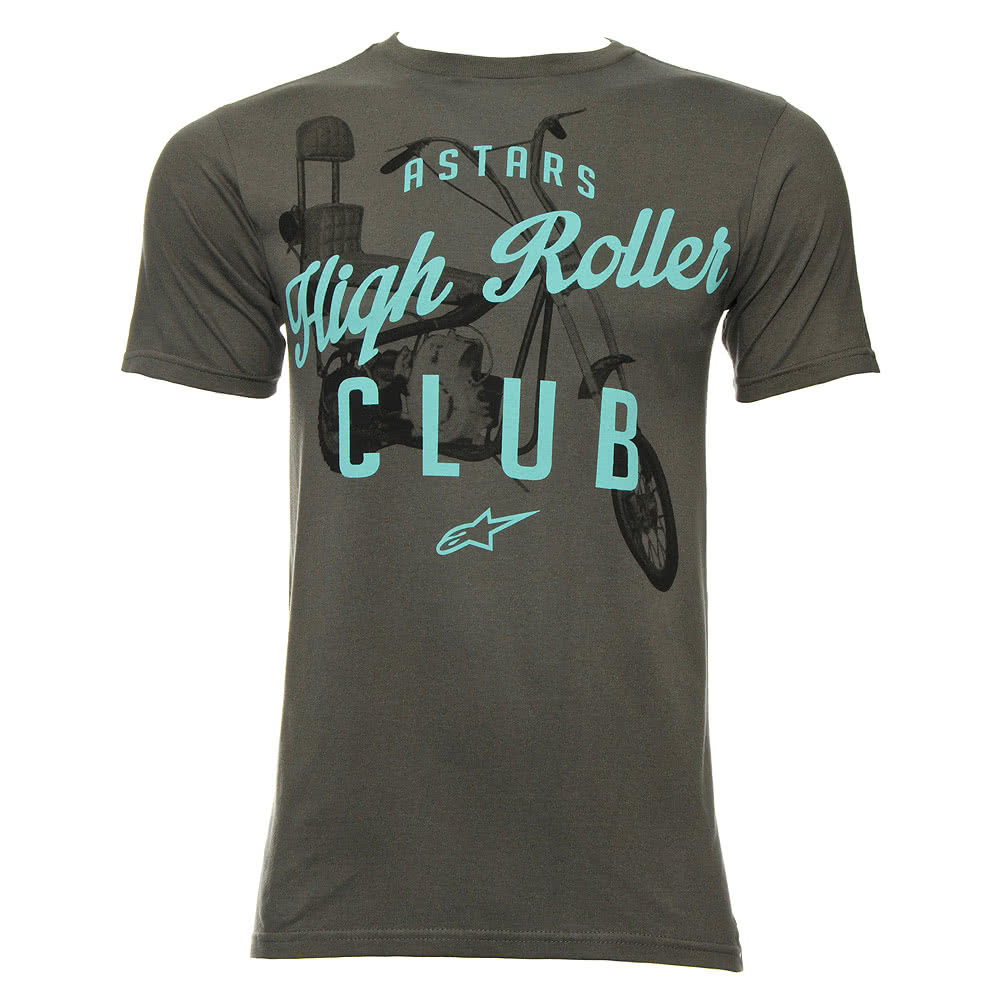 Alpinestars Gambler Shadow T Shirt (Charcoal)