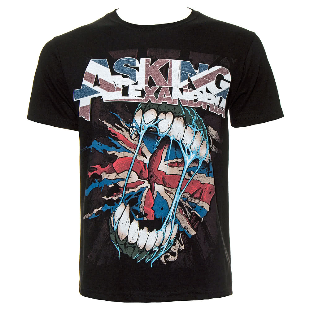 Asking Alexandria Flag Eater T Shirt (Black)