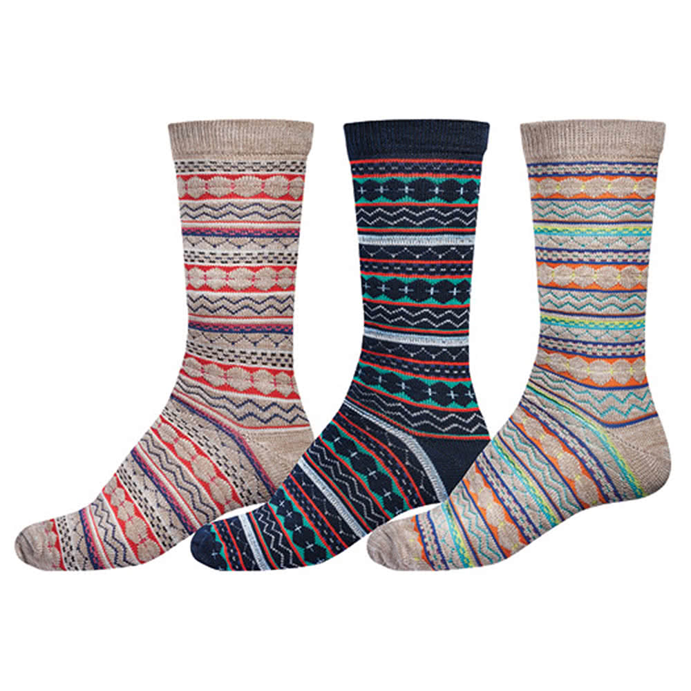 Globe Nordic Socks 3PK (UK7 - UK11)