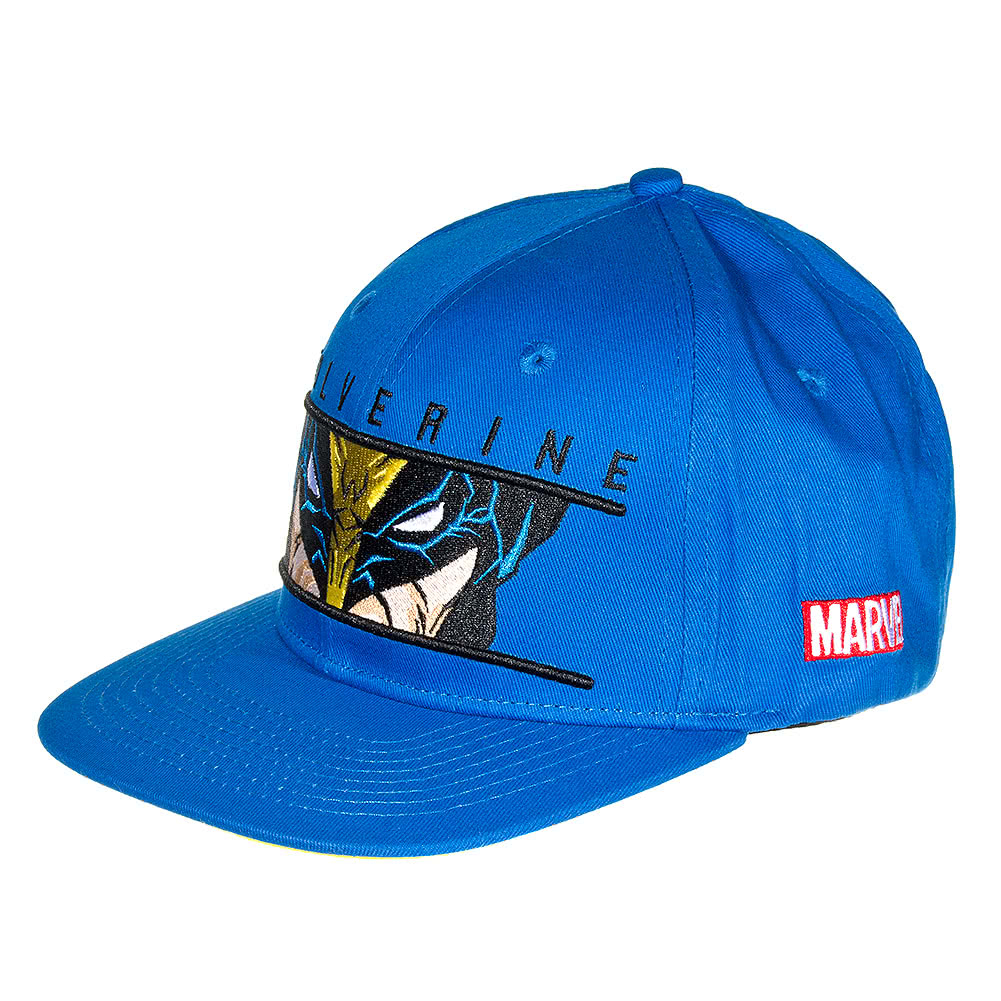 Marvel Comics Wolverine Watcher Baseball Cap (Blue)