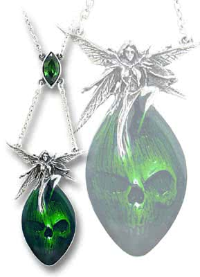 Alchemy Gothic Absinthe Fairy Necklace