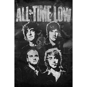 All Time Low Faces Maxi Poster