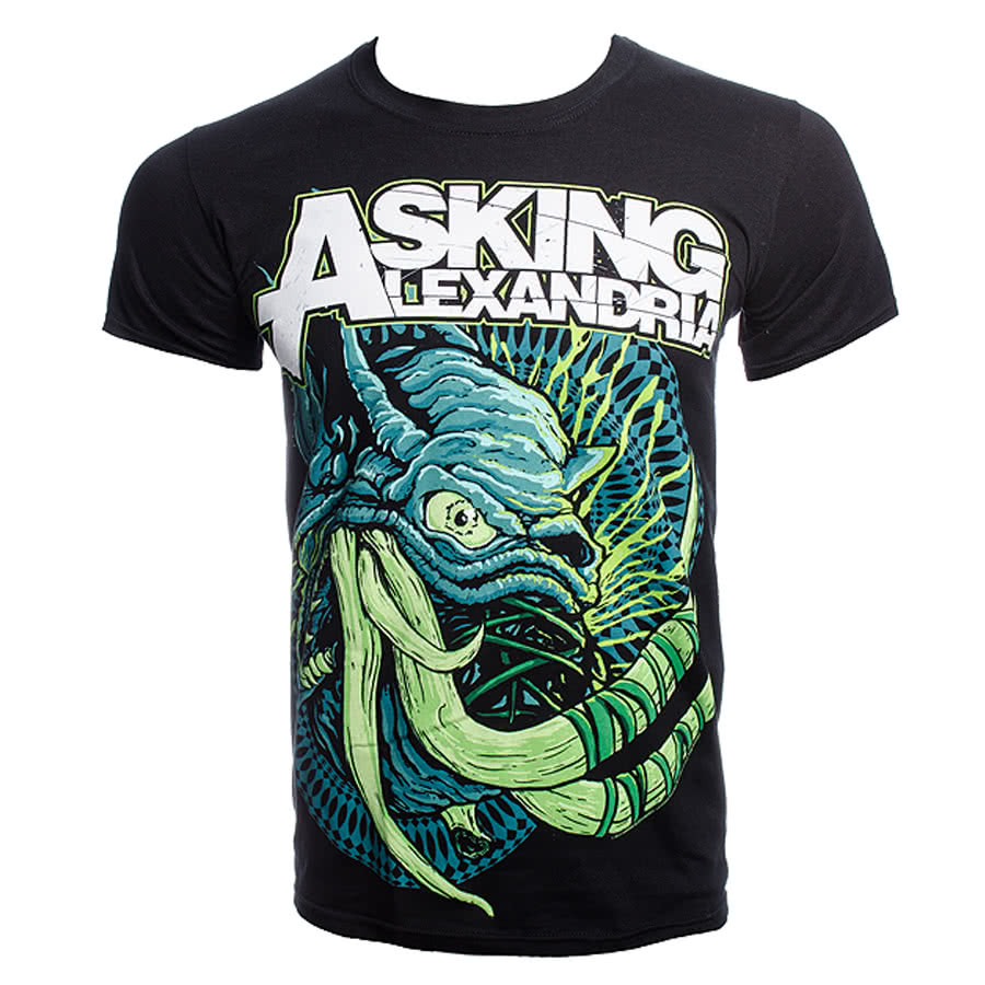 Asking Alexandria Tusks T Shirt (Black)