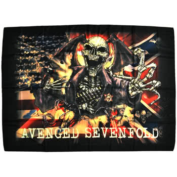 Avenged Sevenfold Confederate Flag