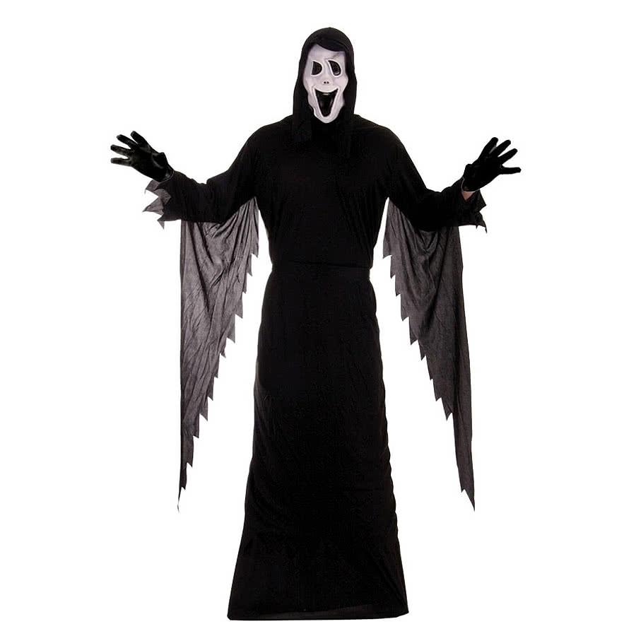 Demon Ghost Fancy Dress Costume (Black)