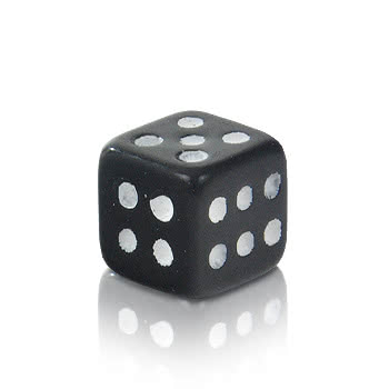Novelty Dice 5mm Add On (UV Black)