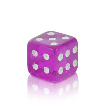 Novelty Dice 5mm Add On (UV Purple)