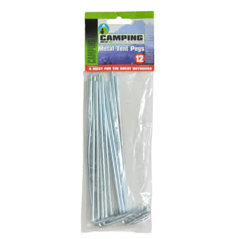 Blue Banana Pack of 12 Festival Tent Pegs
