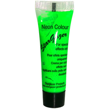 Stargazer Neon Special Effects Face and Body Paint (Green)