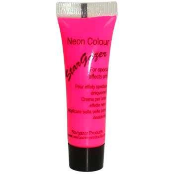 Stargazer Tube of Neon Special Effects Face and Body Paint (Pink)