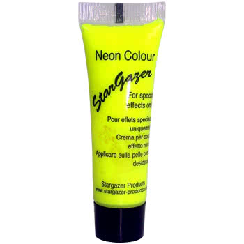 Stargazer Neon Special Effects Face and Body Paint (Yellow)
