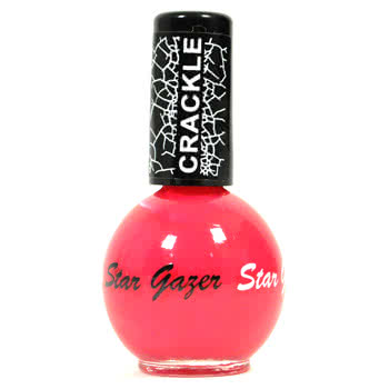 Stargazer No. 604 Crackle Nail Polish (Pink)