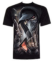 Spiral Direct Street Reaper T Shirt (Black)