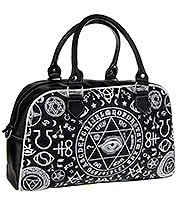 Banned Step Aside Sugar Skull Bag (Black)