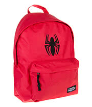 Spiderman Logo Backpack (Red)