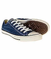 Converse All Star Egret Ox Shoes (Navy)