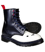 Dr Martens 1460 Adventure Time Marceline Boots (Black/White)