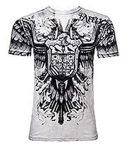 Affliction American Clothing Death Flight T Shirt (White)