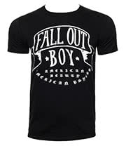 Fall Out Boy American Beauty T Shirt (Black)