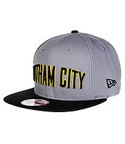 New Era Gotham City Hero Snapback Cap (Grey)