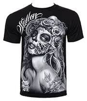 Sullen Querida Muerta T Shirt (Black)