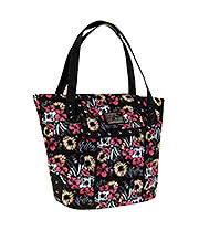 Sullen Angels Flower Field Skull Tote Bag