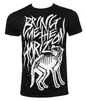 Bring Me The Horizon Wolf Bones T Shirt (Black)