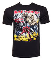 Iron Maiden Beast T Shirt (Black)