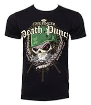 Five Finger Death Punch Warhead T Shirt (Black)