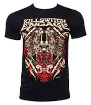 Killswitch Engage Bio War T Shirt (Black)