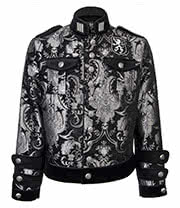 Shrine of Hollywood Royal Marine Jacket (Silver/Black)
