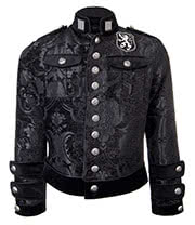 Shrine of Hollywood Royal Marine Jacket (Black)