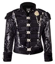 Shrine of Hollywood Dominion Jacket (Silver/Black)