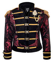 Shrine of Hollywood Dominion Jacket (Red/Gold)